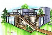 Modern House-Apartment-Store Ideas