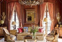 Classic And Oriental / Classic interiors with Oriental rugs