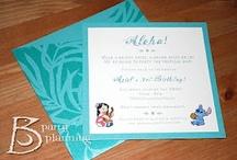 Hawaiian/Lilo & Stitch birthday ideas  / by April Harnish