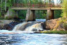 Vesiputoukset / Kuvia Suomessa sijaitsevista vesiputouksista