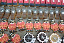 The Custom Cookie bakery / Work in progress in the Custom Cookie bakery. http://www.customcookieco.co.uk/