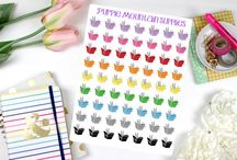 Planner Stickers & Accessories / Time to get myself organized! Planner planning here I come! / by Dancing Buddha Design
