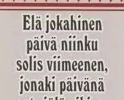 sanonnat suomeksi
