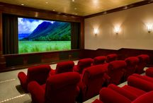 Home Theaters / A collection of home movie theaters that nobody would ever want to leave!