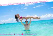 Plaja la Atlantic: Lisabona, Cascais si Estoril! / Salveaza 50% din bugetul de vacanta, alege Portugalia! Peisaje magnifice, mult soare si o baie in oceanul Atlantic.  Preturi de la 359 €/persoana http://bit.ly/1GAuyNi