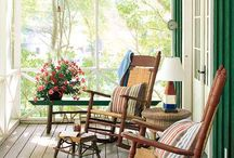 Porches and patio / by Chelsea Denise