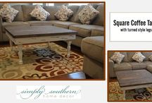 Coffee Tables / Simply Southern ~ coffee tables