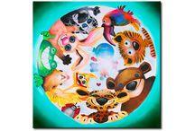 Quadri, Carte da parati & Adesivi murali per bambini / Decorare la cameretta del tuo bambino - Quadri, Carte da parati & Adesivi murali per bambini