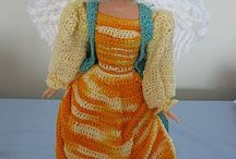 Free Barbie patterns / Free crochet patterns for Barbies or 12 inch fashion dolls.