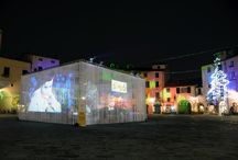 """Exhibit """"E' Natale"""" / Installazione artistica in Piazza #Anfiteatro a #Lucca"""
