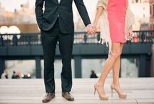 Engagement Style  / Sartorial inspiration for your engagement shoot!