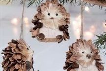 pine cones decorations