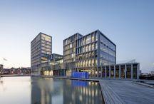 Офисный комплекс компании Bestseller в гавани Орхуса по проекту бюро C.F. Møller.