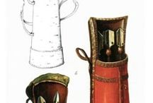 Historical archery equipment