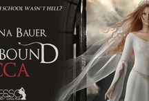 AB: Angelbound Covers / Covers for the Angelbound Series by Christina Bauer and published by Monster House Books