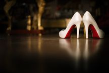 ~ WEDDING SHOES ~ / Interesting and awesome ways to pose wedding shoes.