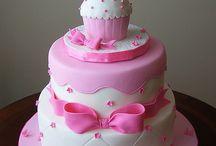 girl bday cake