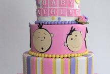 Baby theme cake
