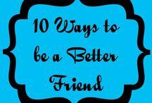 Lifestyle - Friendships