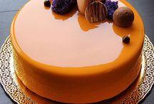 Mirror Cake Orange