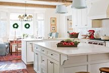 Kitchen / Kitchen design palate colors ideas cabinets decor inspiration  / by Marin Campbell Stuve