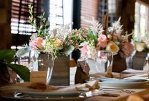 Events at Walkers Bluff / Wedding and special event decorations at Walker's Bluff.