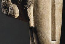 amedeo modigliani,  sculpture