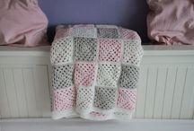Crochet plaids