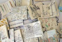 cuadernos para dibujar ,crear ,journales ,libros .......etc....