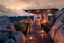 Africa's Top Romantic Treehouse & Forest Suites / A treehouse makes for the ultimate safari lodge - there's nothing quite like a giant fig tree spiralling through your suite to make you feel totally immersed in the wonder and romance of Africa. Aesthetically, the results of this eco-friendly approach can be simply astounding – here's our top 12 selection of the most luxurious treehouse lodges, forest suites and sleep-outs in Africa.