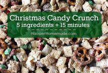 Christmas Treats / christmas baking, cookies, christmas gift ideas, food gifts
