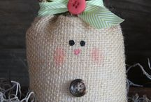 Burlap ideas / by Annette Miller