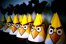 Ideas for the surprise party / Angry Birds Themed Party for the kiddos this year...  / by Chris Patterson