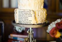 Book-Themed Wedding / Inspiration for a bookish wedding...for the literary types.