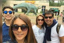 Rodrigo y familia