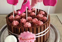 bolo aniversário para menina