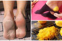 Soin des pieds / soins des pieds naturels. pour avoir des pieds doux et beaux