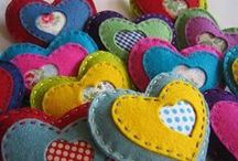 Hearts / Felt goodies