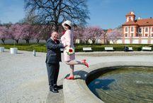Свадебная фотосессия в Праге одной очень стильной и красивой пары. / Свадебная фотосессия в Праге одной очень стильной и красивой пары.