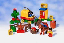 Our old duplo sets / by Jessica Thornton