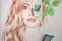 Jennifer Van Rooyen Art / Some of my art I did