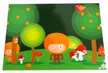 Graphic Design | Wenskaarten by Lot of Design / wenskaarten feestdagen kerst verjaardag