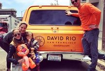 David Rio Chai Blitz / The David Rio Chai Blitz is an eight-week initiative with our Chai-oneers and Chaiger who drive all around San Francisco in our Chaimobile giving away free samples of David Rio chai and meeting new fans, baristas, cafe owners! Look out for them in the streets of SF!