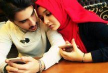 Romantic hijab