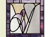 Stained Glass - Letters