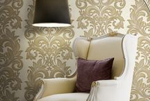 Ultrawalls Metallic Wall Paper / You can get your living room set up with amazing interiors in floral designs. They will truly complement the floral wallpapers as well. There are a number of choices for you. For instance, you can get the sofa and other furniture items in floral covers. You can also have the floral design for the cushions and table covers.