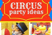 Circus feest p/k