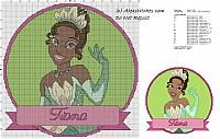 Disney Princesses free cross stitch patterns / Disney Princesses free cross stitch patterns, Ariel, Snow White, Tiana...