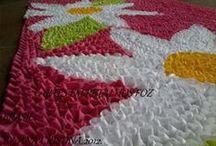 tapetes frufru  e amarradinhos