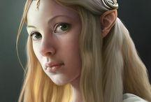 Elf  ● High ● Female